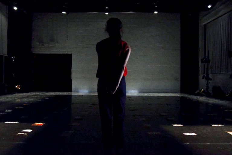 Figure Eights - Solo -Lighting Design by Sarah Tundermann