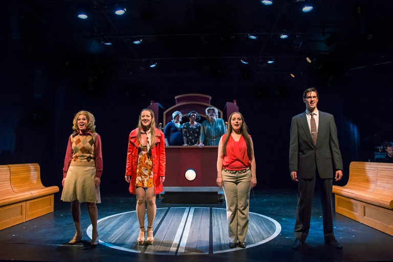 Fogg Theatre's Cable Car Nymphomaniac - Lighting Design by Sarah Tundermann