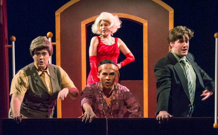 """Some men are hot, they light up like a match"" Fogg Theatre's Cable Car Nymphomaniac"