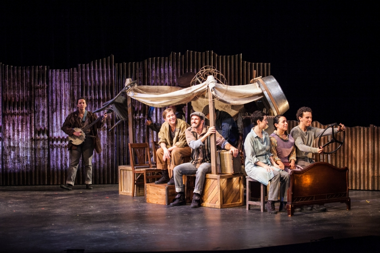 National Players Tour 68 - The Grapes of Wrath - the Family hits the road