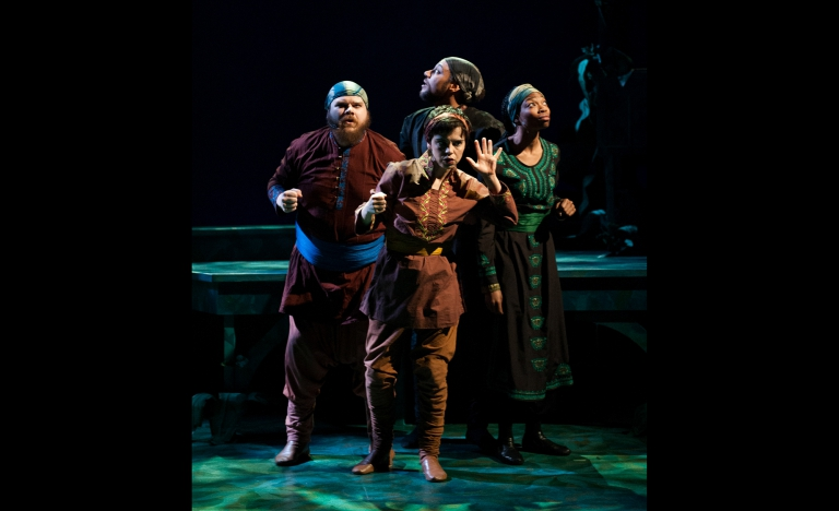 So dark you cannot see your hand in front of you - The Jungle Book at IStage